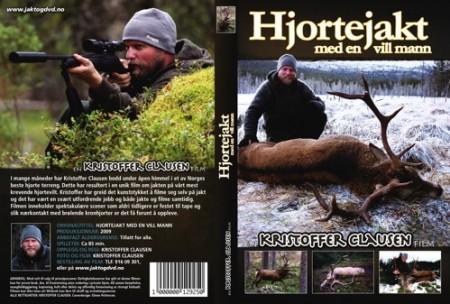 Hjortejakt med en vill mann, En Kristoffer Clausen DVD.
