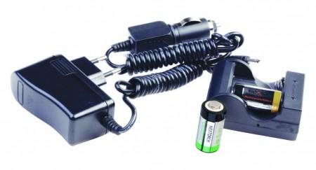 Nextorch ladesett, komplett med batterier.