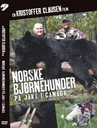 Norske Bj�rnehunder p� jakt i Canada