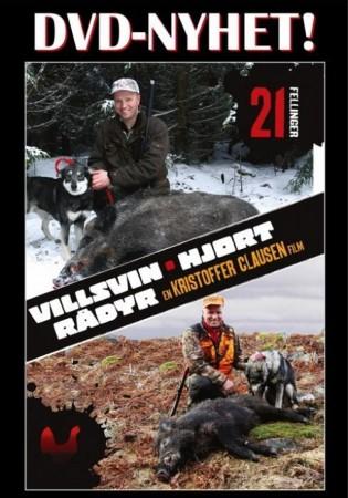 Villsvin, hjort og r�dyr, En Kristoffer Clausen DVD.