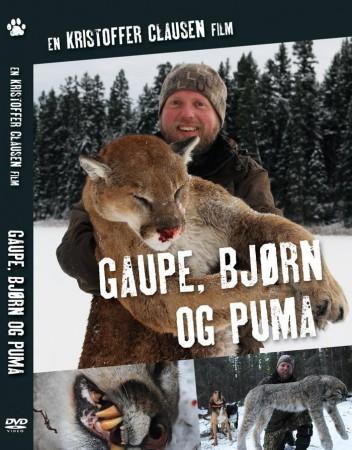 Gaupe, bj�rn og puma, En Kristoffer Clausen DVD.