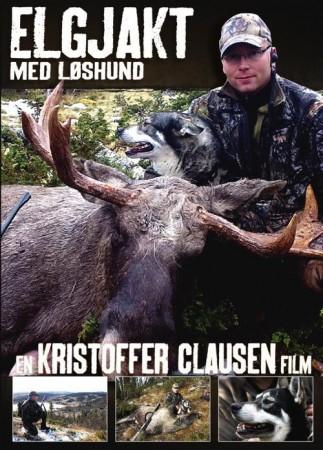 Elgjakt med l�shund, En Kristoffer Clausen DVD.