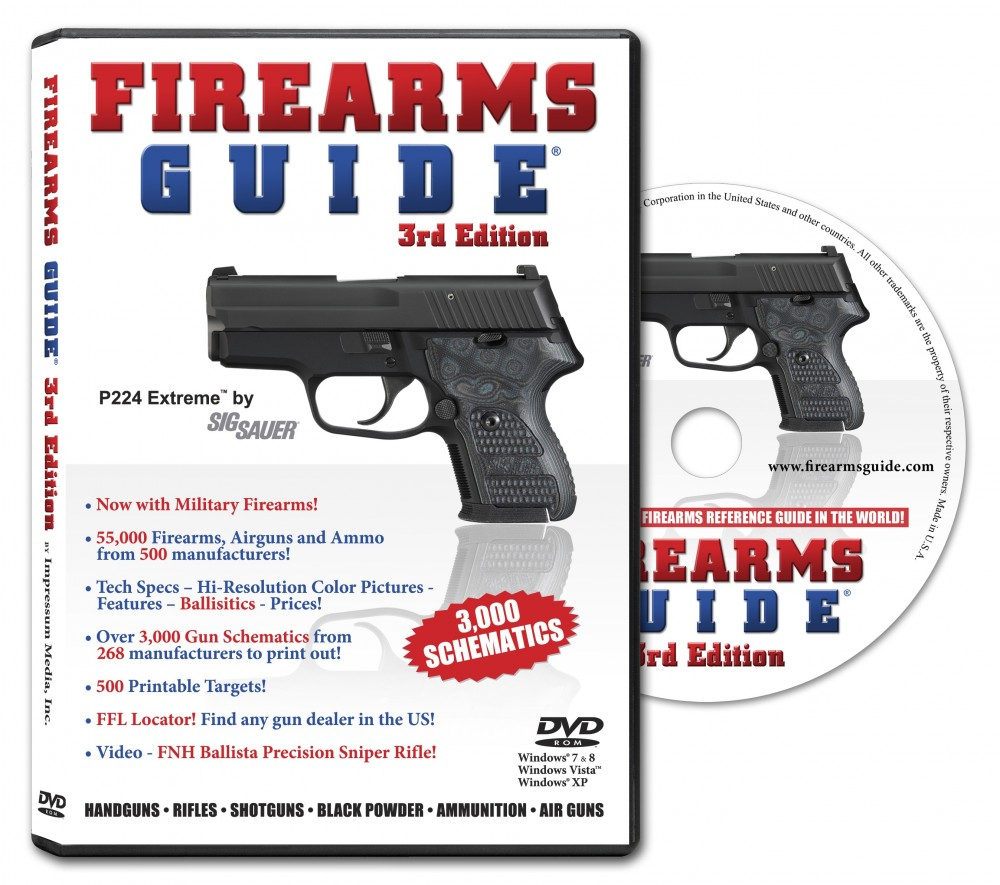 Firearms Guide 3rd Edition PC on