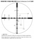 Vortex Crossfire II 4-12X50 AO Dead-Hold BDC (MOA) Reticle 1 inch Tube thumbnail