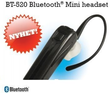 BT-520 Bluetooth Mini Headset