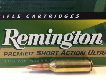 7mm Remington Short Action Ultra Mag 140 grs psp core-lokt ultra