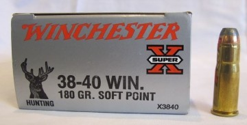 Winchester 38-40W 180 grs Soft Point