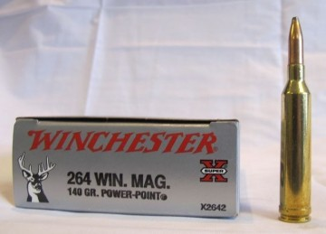 Winchester 264 Win. Mag. 140 grs Power-Point