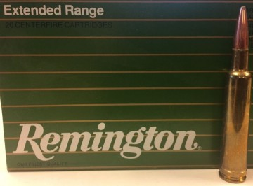 Remington 7 MM Weatherby Magnum 165 grs extended range