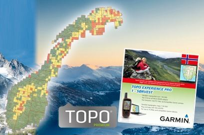 Topo Experience PRO 4 Sentral øst