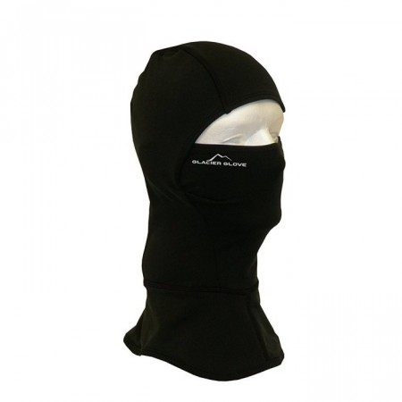 Glacier Glove Balaclava, Fleece, Sort