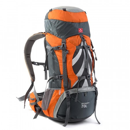 Naturehike Discovery Ryggsekk 70+5L Orange