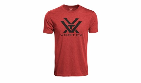 Vortex Core Logo T-Shirt - Red Heather