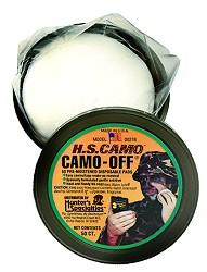 Hunters Specialties Camo-Off Pads, 50 stk. Camouflage Face Paint Remover