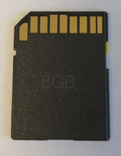 Høyhastighet minnekort til viltkamera, 8GB SDHC Class 10.